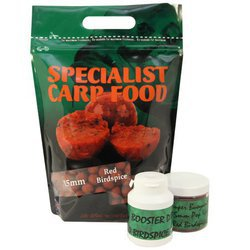 Бойлы тонущие Mistral Baits Red Bird Spice 20mm/1kg