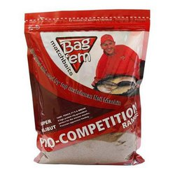 Прикормка Bagem Matchbaits Red Agressor Groundbait / 850 гр.