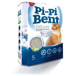 Наполнитель Pi-Pi-Bent DeLuxe Clean cotton (5 кг)