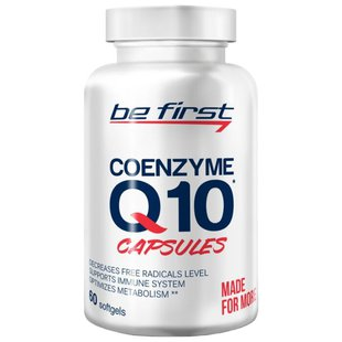 Коэнзим Q10 Be First Coenzyme Q10 (60 шт.)