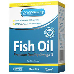 Рыбий жир VP Laboratory Fish Oil (60 капсул)