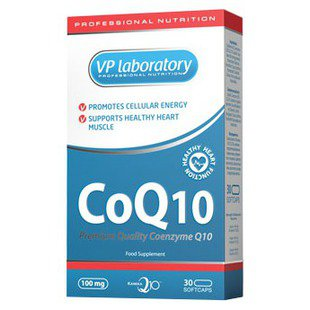 Коэнзим Q10 VP Laboratory CoQ10 (30 капсул)