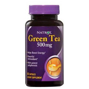 Антиоксидант Natrol Green Tea 500mg (60 капсул)