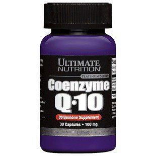 Коэнзим Q10 Ultimate Nutrition Coenzyme Q10 (30 капсул)