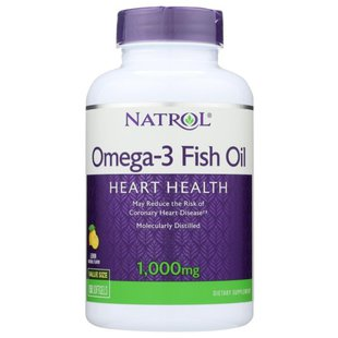 Рыбий жир Natrol Omega-3 Fish Oil 1000 mg (150 капсул)