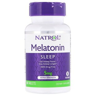 Мелатонин Natrol Melatonin 5 mg (60 таблеток)