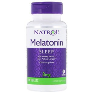 Мелатонин Natrol Melatonin 3 mg (120 таблеток)