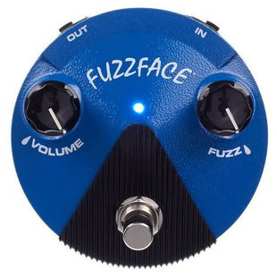 Dunlop педаль FFM1 Silicon Fuzz Face Mini Distortion