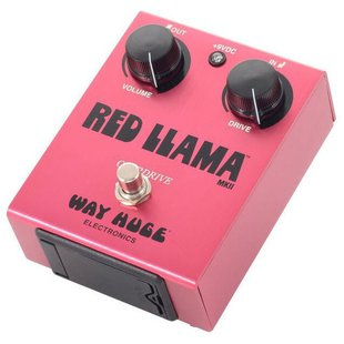 Dunlop педаль WHE203 Way Huge Red Llama Overdrive MkII