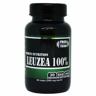 Левзея Frog Tech Leuzea extract 200 mg 30 капс