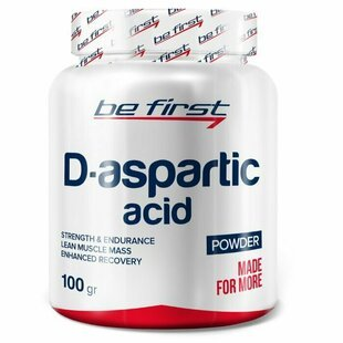 Д-аспаргиновая кислота Be First D-Aspartic Acid powder 100 г